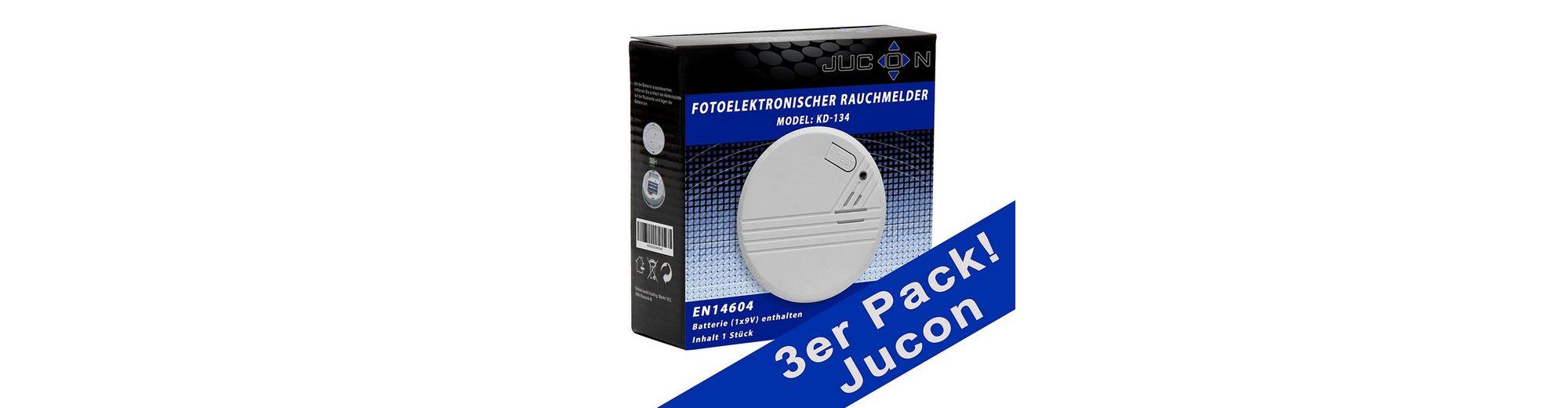 Rauchmelder, Jucon (3er Set)