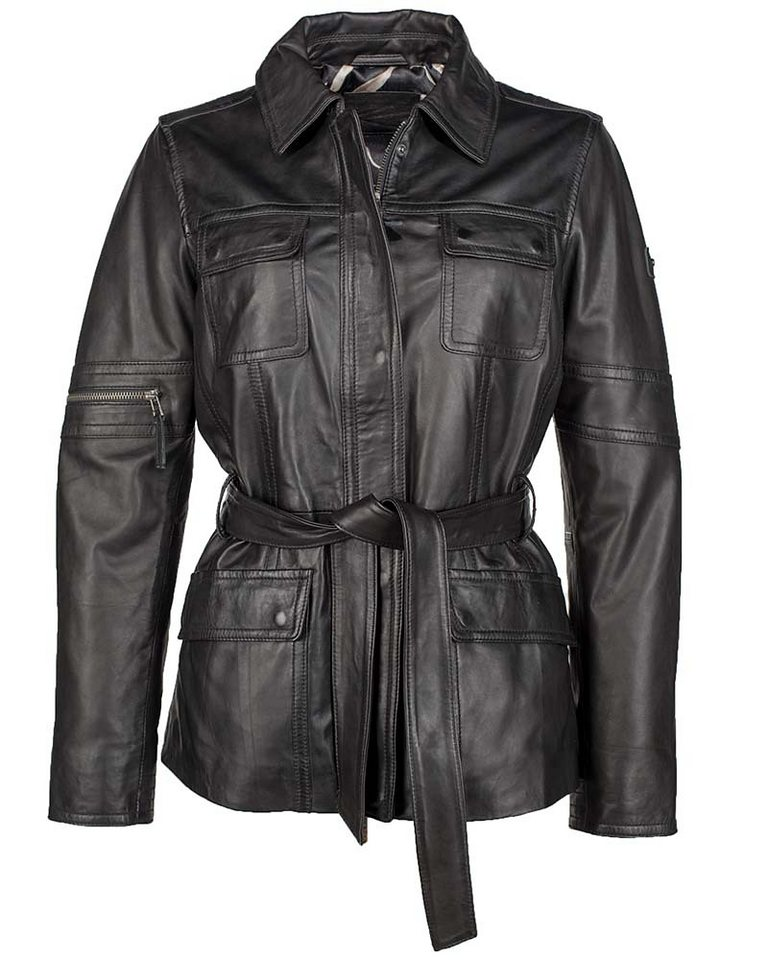 JCC Lederjacke Damen »Gotham« in black
