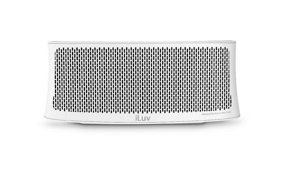 iLuv Bluetooth Stereo Lautsprecher »Wavecast« in weiss