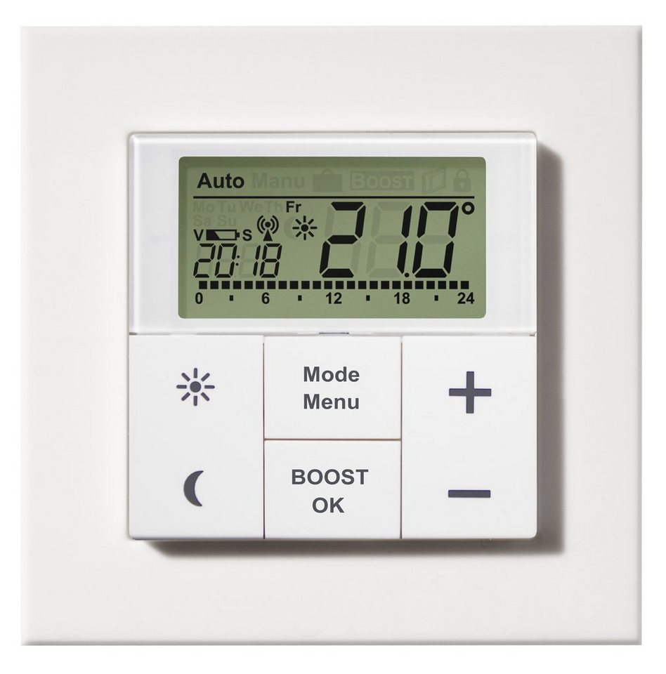 MAX! Smart Home Energie & Komfort »WT Wand-Thermostat« in weiss
