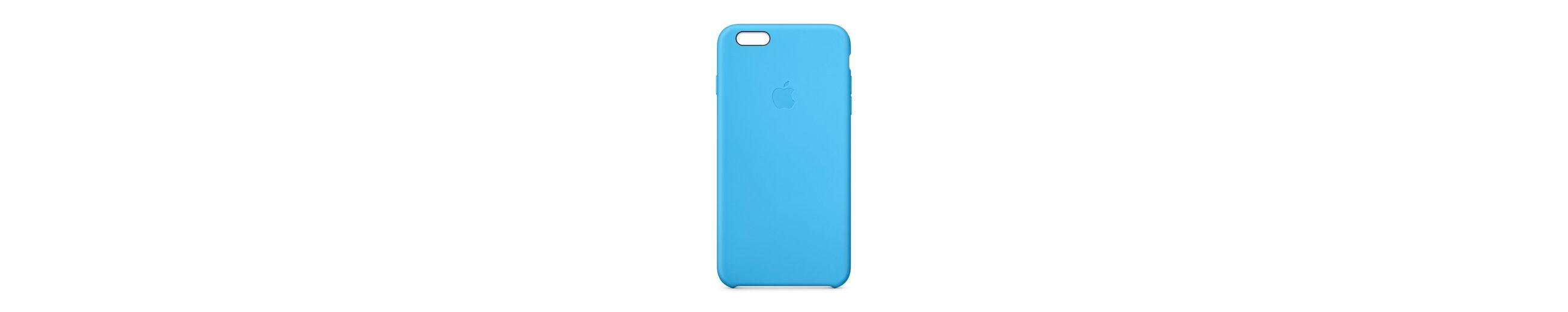 APPLE Silikon Case »iPhone 6 Plus Blue (MGRH2ZM/A)«