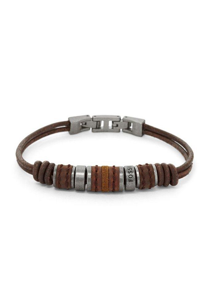 Armband, Fossil in braun