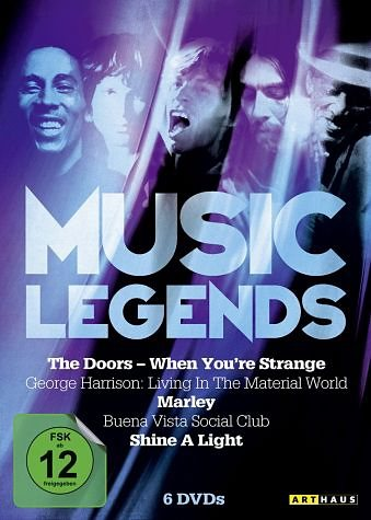 DVD »Music Legends (6 Discs)«
