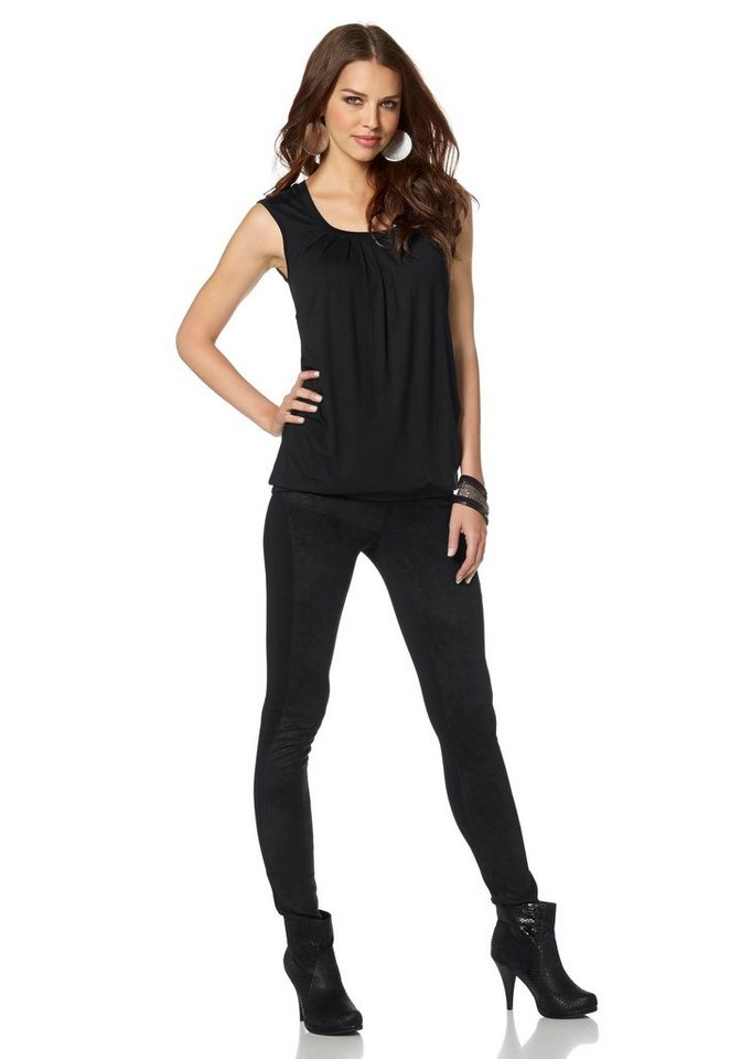 Laura Scott Leggings in schwarz