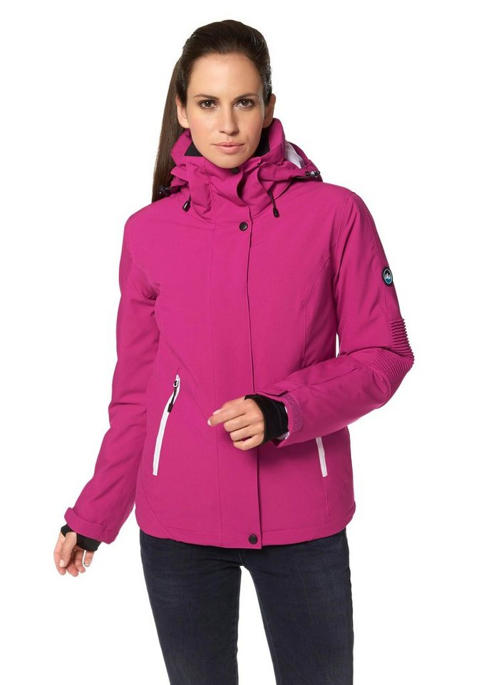 Polarino Skijacke in Pink