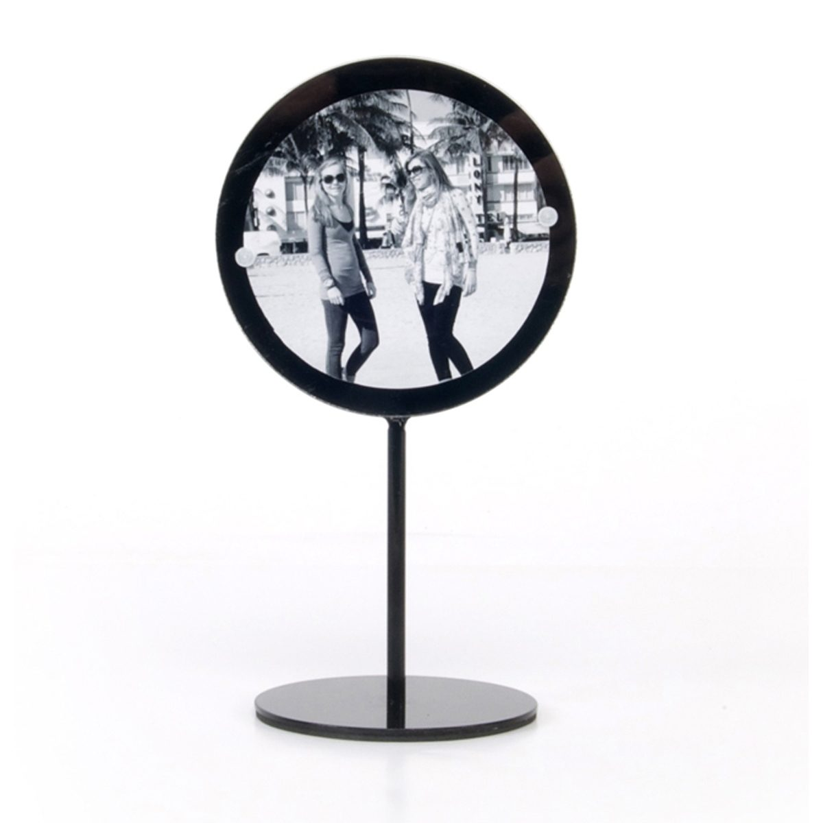 XLBoom XLBOOM Spiegel BLUSH medium, schwarz
