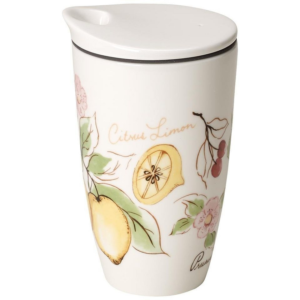 VILLEROY & BOCH Coffee to Go Becher »French Garden Fleurence« in Dekoriert