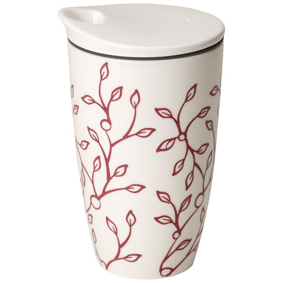 villeroy boch coffee to go becher caff club floral berry online kaufen otto. Black Bedroom Furniture Sets. Home Design Ideas