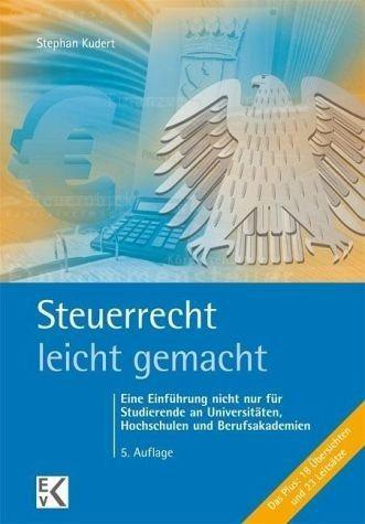 Broschiertes Buch »Steuerrecht leicht gemacht«