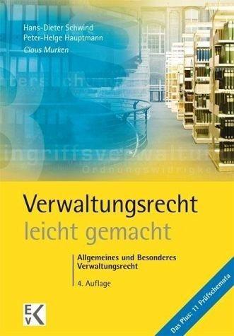 Broschiertes Buch »Verwaltungsrecht - leicht gemacht®«