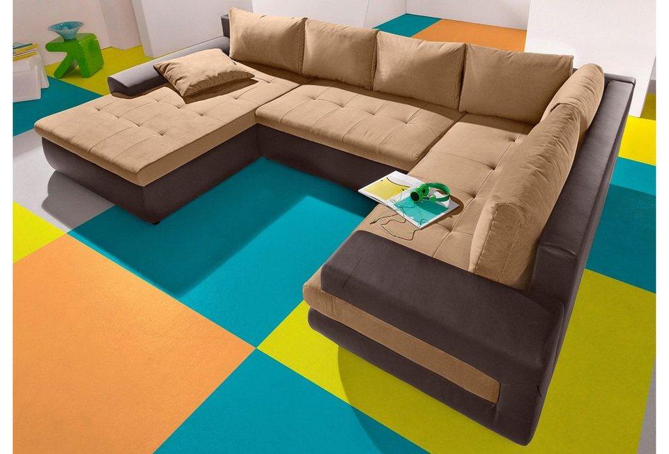 inosign wohnlandschaft wahlweise xl oder xxl otto. Black Bedroom Furniture Sets. Home Design Ideas