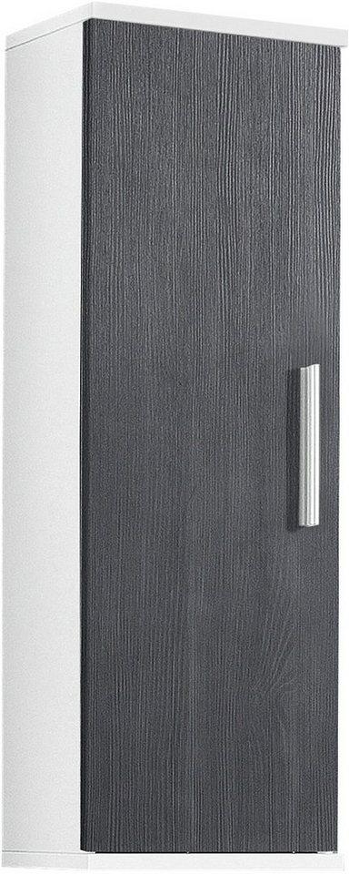 Hängeschrank, Kesper, »Linda« in weiß-graphit Struktur