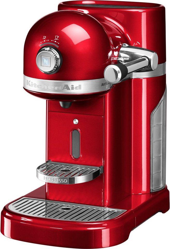 Kitchenaid Nespresso 5KES0503ECA, liebesapfelrot in liebesapfelrot