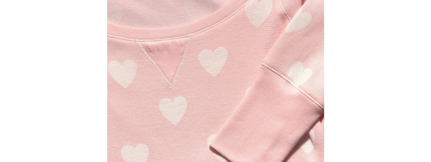 Vivance Dreams Nachthemd mit breiten Ärmelbündchen & Alloverprint Discounter Standorten d4OefoL