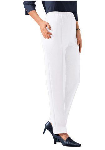 CLASSIC BASICS Laisvos kelnės su komfortablen plačiu ...