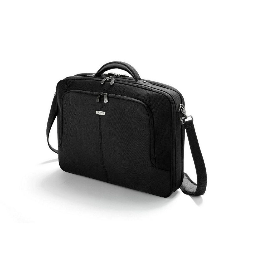 DICOTA Kompakte Notebooktasche »MultiPlus 14-15.6 - 41,6cm (D30144)« in schwarz