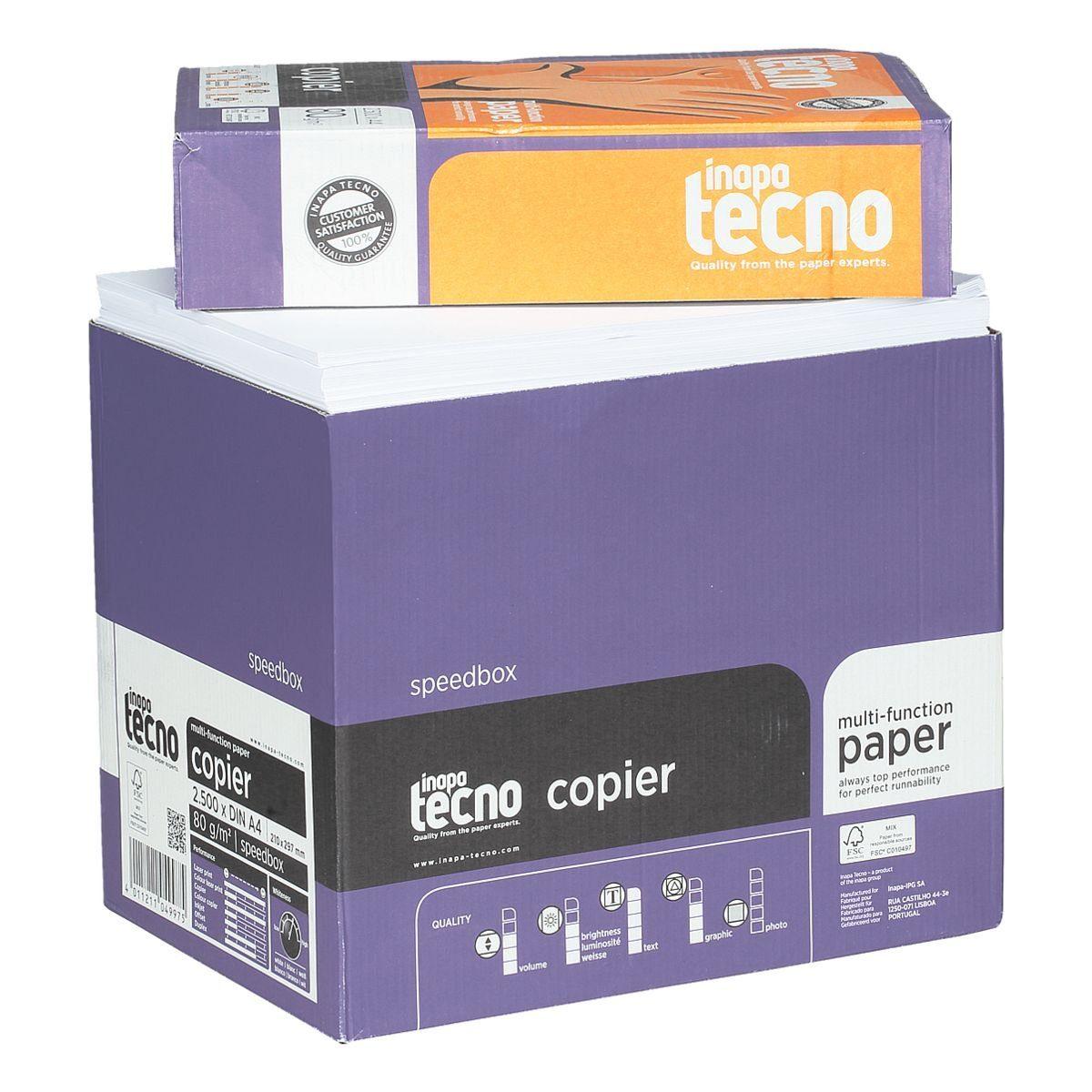 Inapa tecno Öko-Box Multifunktionales Druckerpapier »Copier«