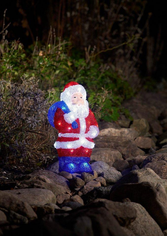 LED Acryl, »Weihnachtsmann«, Konstsmide in rot