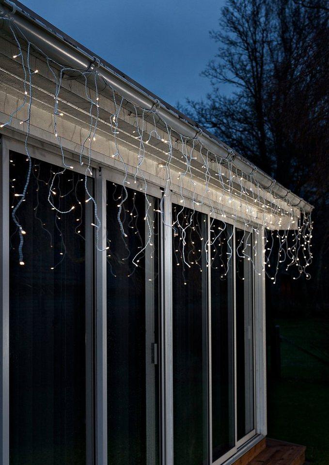 LED Vorhang, »warm weiß«, Konstsmide in grün