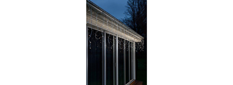 LED Vorhang, »warm weiß«, Konstsmide