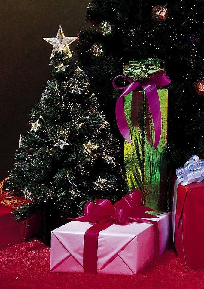 Fiberoptik Weihnachtsbaum, Konbike in grün