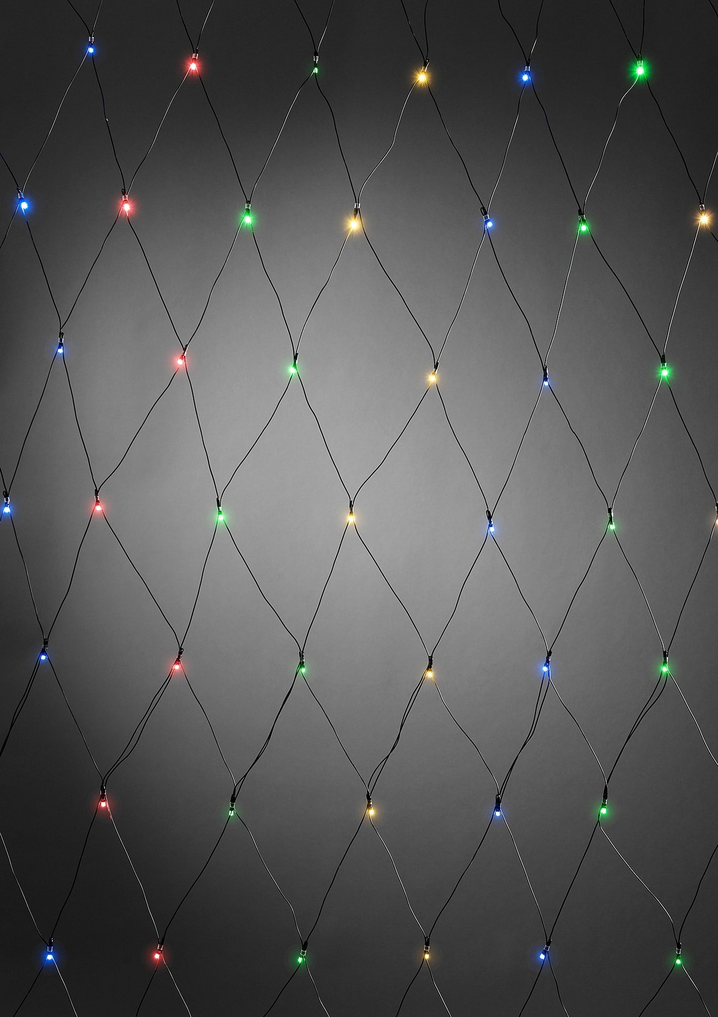 LED Lichternetz, »bunt«, Konstsmide