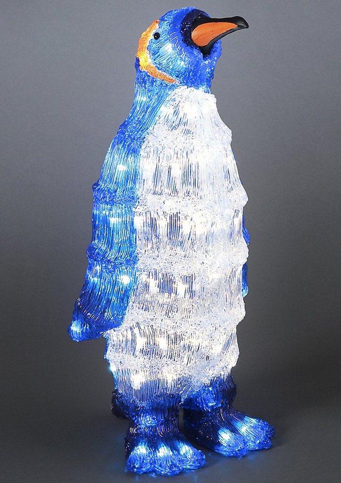 LED Acryl, »Pinguin«, Konstsmide in blau