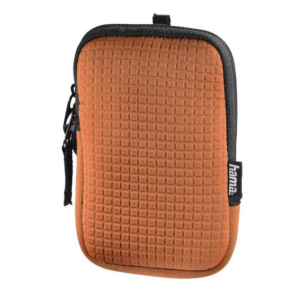 Hama Kameratasche Fancy Neopren Quad, 70E, Orange in Orange