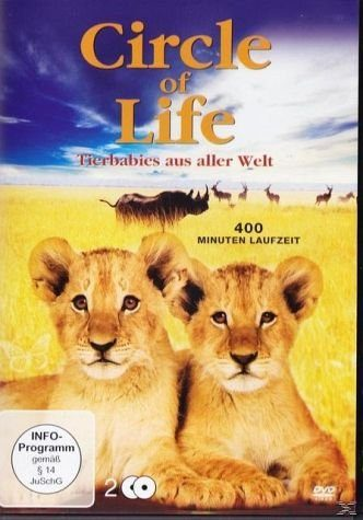 DVD »Circle of Life - Tierbabys aus aller Welt (2...«