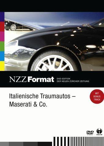 DVD »NZZ Format - Italienische Traumautos:«