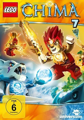 DVD »Lego: Legends of Chima - DVD 7«