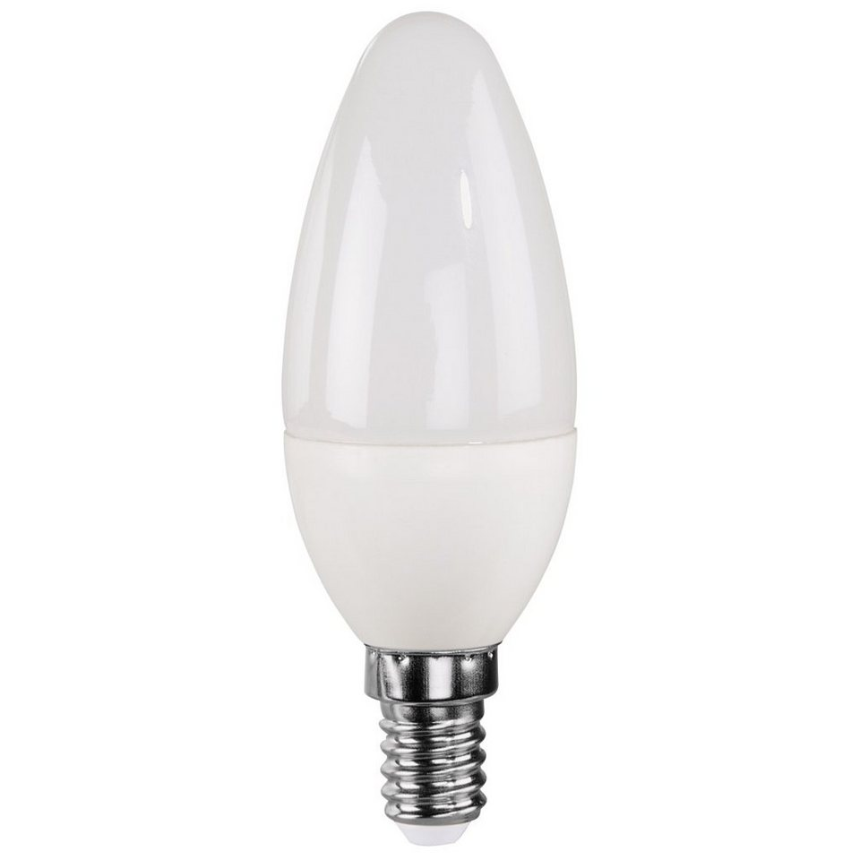 Xavax LED-Lampe, 4,5W, Kerzenform, E14, Warmweiß in Weiss