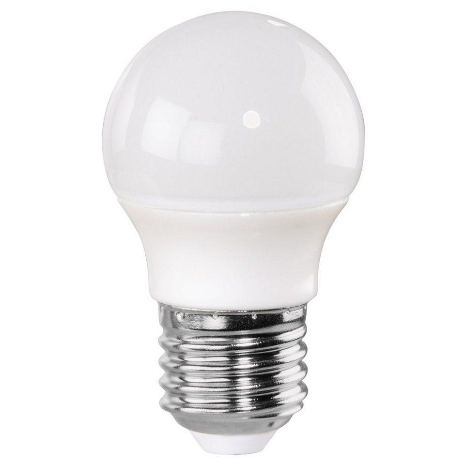 Xavax LED-Lampe, 5W, Tropfenform, E27, Warmweiß in Weiss
