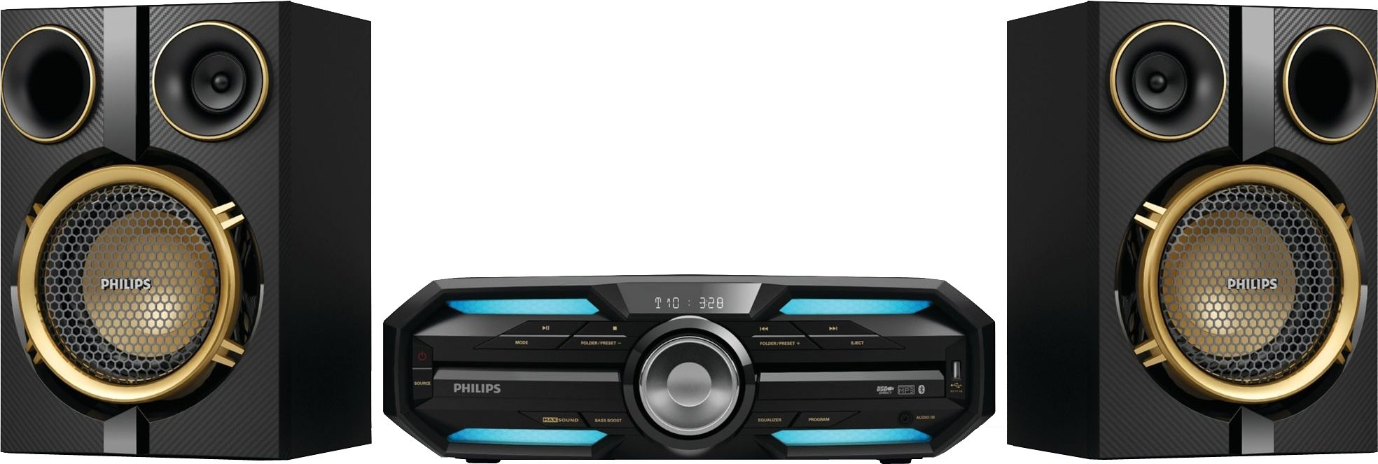 Philips FX25 Minianlage, Bluetooth, NFC, 1x USB