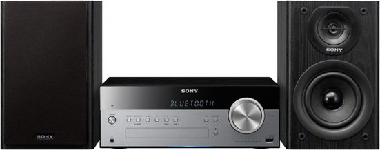 Sony »CMT-SBT100« Microanlage (Bluetooth, NFC, FM-Tuner mit RDS, 50 W, Bluetooth® Audio-Streaming mit NFC)