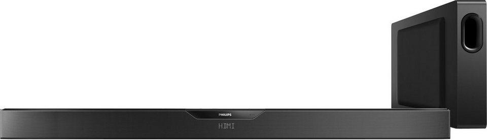 Philips HTL6145 Soundbar (Bluetooth, NFC) in schwarz