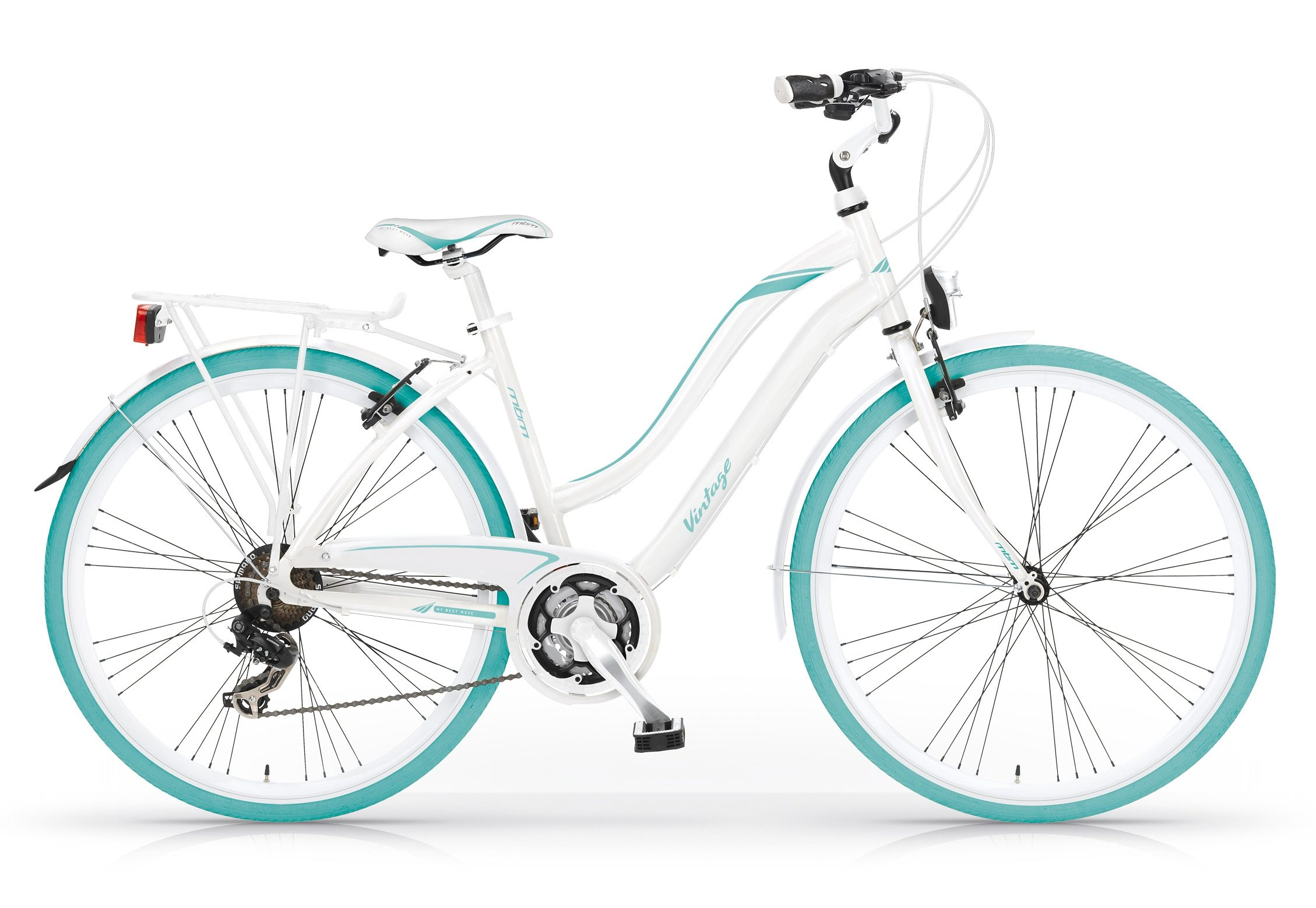 Trekkingbike Damen, 28 Zoll, 21-Gang Shimano, »Vintage 834«, MBM