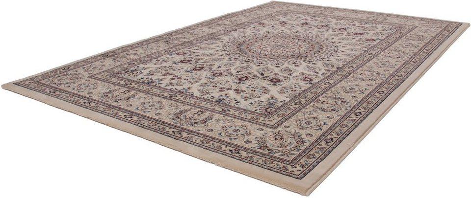 Orient-Teppich, Lalee, »Mashad 130« in Creme