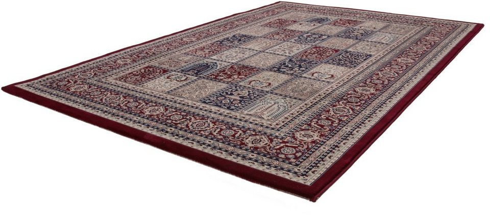 Orient-Teppich, Lalee, »Mashad 132« in Rot