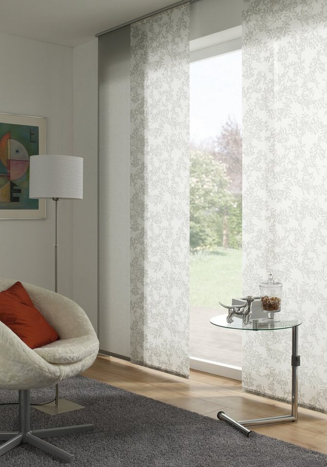 schiebegardine gardinia rispe waschbar 60 cm breit 1 st ck ohne zubeh r online kaufen otto. Black Bedroom Furniture Sets. Home Design Ideas