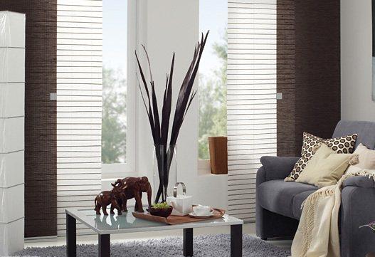 schiebegardine gardinia crush mit klettband 60 cm breit 1 st ck ohne zubeh r online. Black Bedroom Furniture Sets. Home Design Ideas