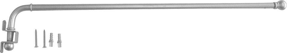 Schwenkstange, Indeko, »Schwenkstange«, ausziehbar, ø 12 mm in messing