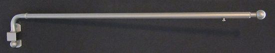 Schwenkstange »Schwenkstange«, indeko, Ø 12 mm, 1-läufig, ausziehbar