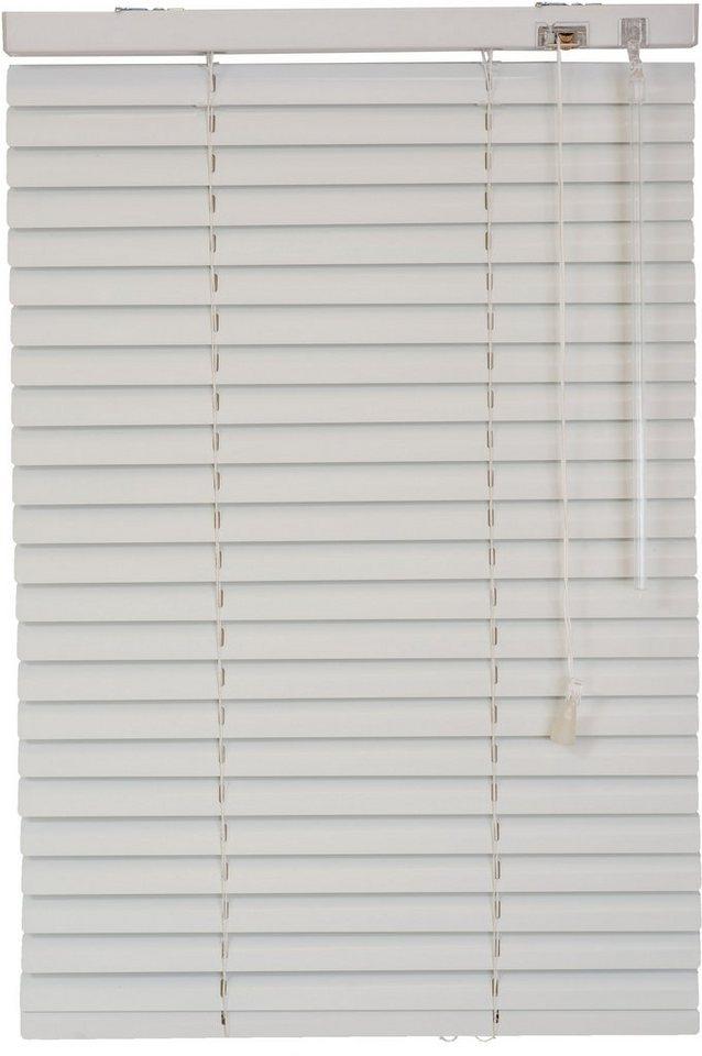 Aluminium-Jalousie, Sunlines, im Festmaß (1 Stck.) in weiß