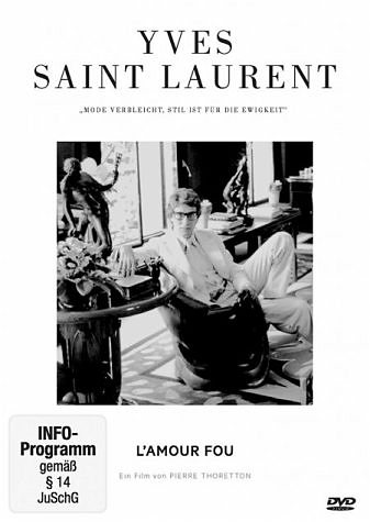 DVD »Yves Saint Laurent - L' Amour fou«