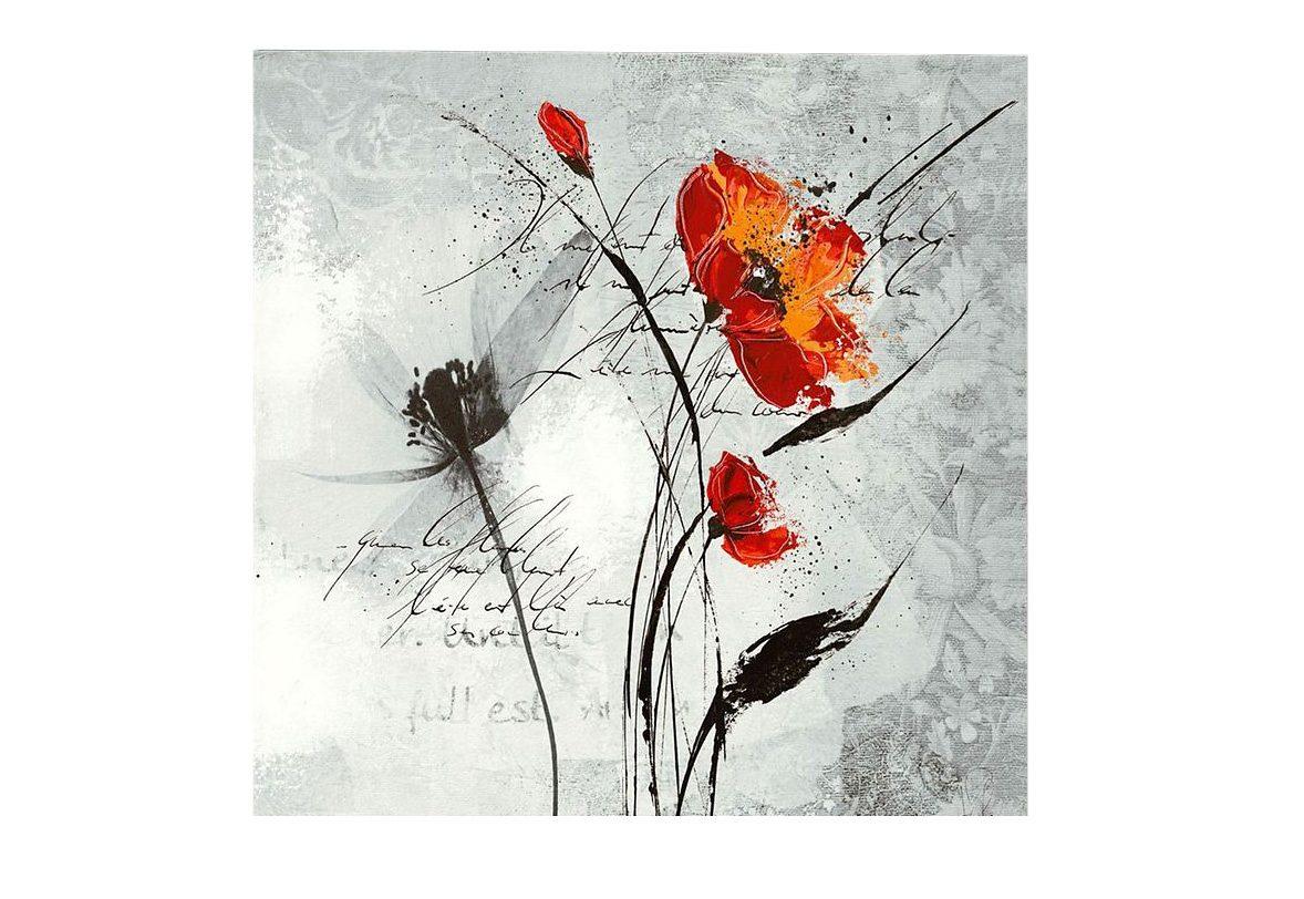Premium Picture, Wandbild, »Mohn«, 70/70 cm
