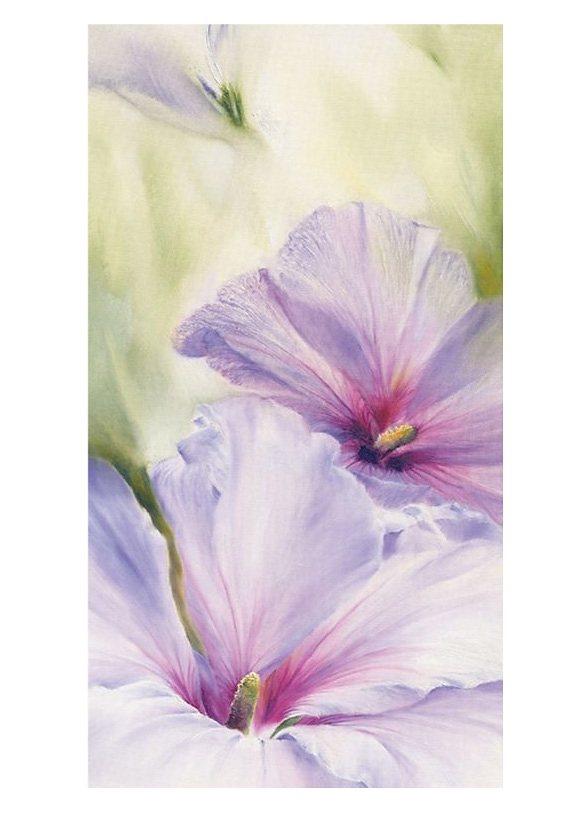 Wandbild, »Hibiskus«, Premium Picture, 50/100 cm in weiß