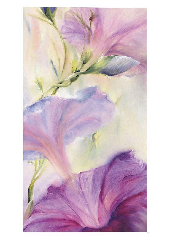 Wandbild, »Hibiskus«, Premium Picture in lila