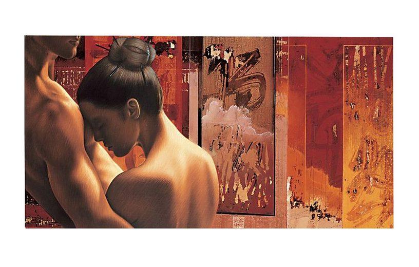 Wandbild, »Pardonne-moi«, Premium Picture