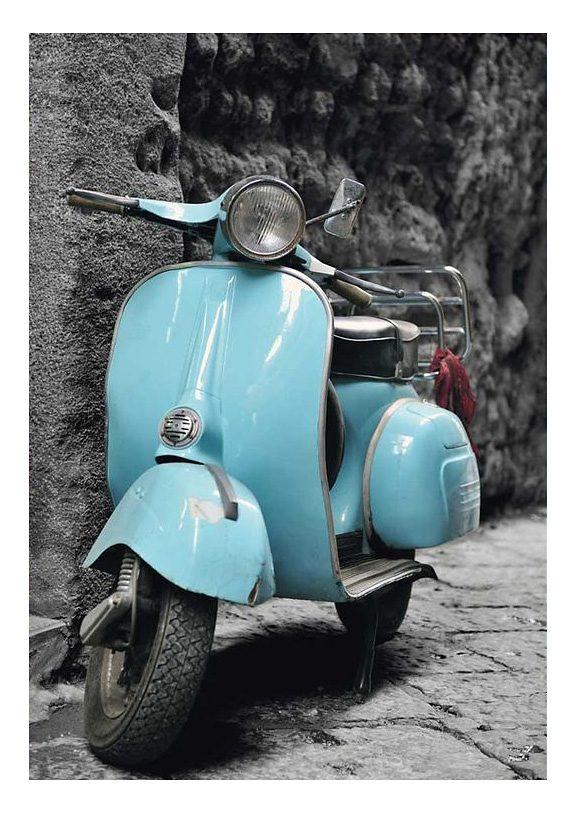 Wandbild, »Scooter Italy«, Premium Picture